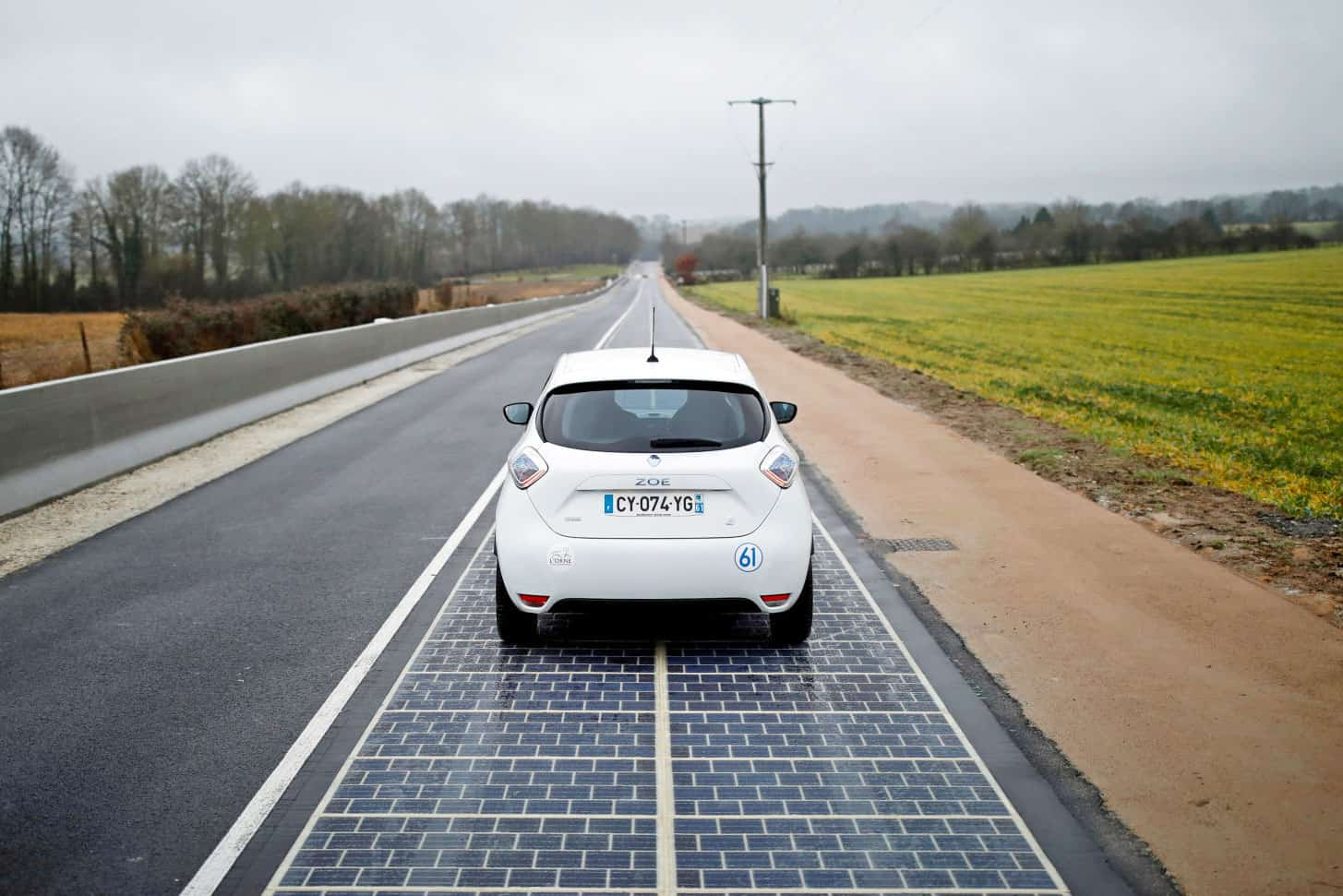 Solar Highway, France