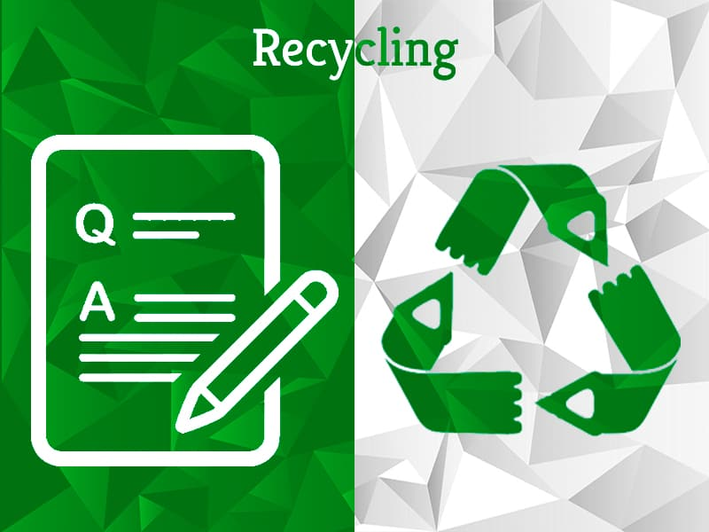 Can materials like fiberglass and Carbon Fiber be recycled?