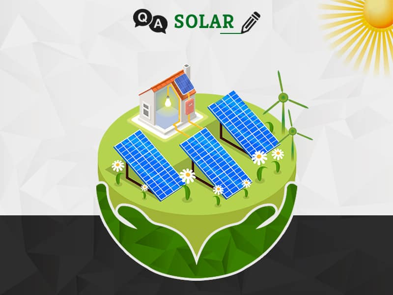 What are the minimum requirements for installing a solar plant?