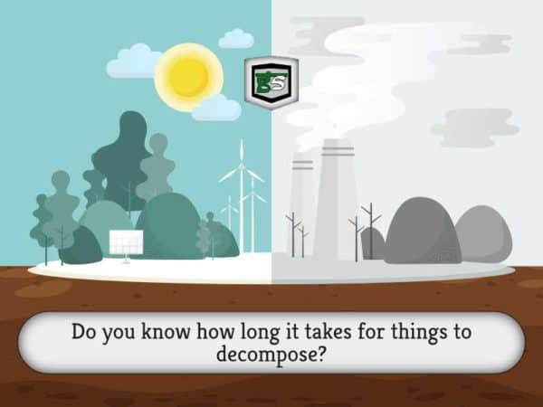Decomposition Rates by GreenSutra | Mumbai | India